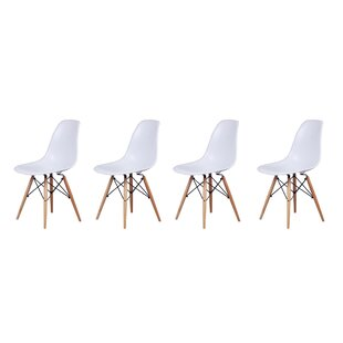 Reviews Welling Dining Chair (Set of 4) by George Oliver Reviews (2019) & Buyer's Guide
