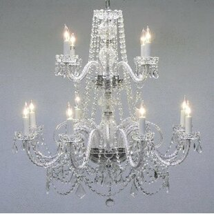 House of Hampton Kelsch 12-Light Candle Style Chandelier
