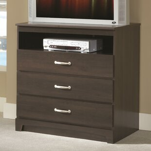 No Da 3 Drawer Media Chest Lang Furniture