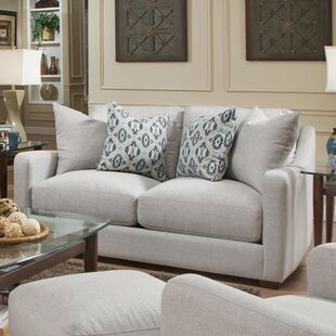 Bungalow Rose Charlaine Loveseat