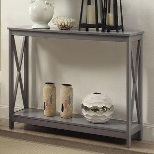 gray console tables you ll love wayfair rh wayfair com gray wash sofa table distressed gray sofa table
