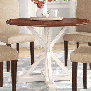 Laura Farmhouse Dining Table by August Grove Discountt