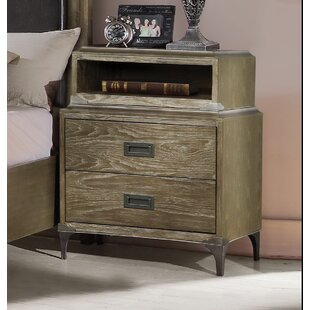 Cosima 2 Drawer Nightstand