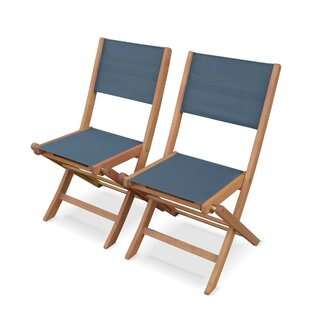 Dancy Folding Deck Chair (Set Of 2) By Sol 72 Outdoor