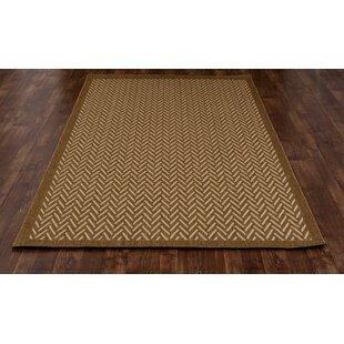 Beaminster Brown Indoor/Outdoor Area Rug