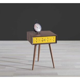 Ternes End Table with Storage