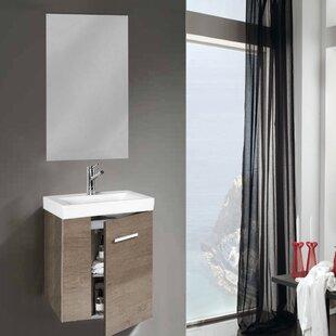 Ahuja 450mm Wall Mount Vanity Unit By Belfry Bathroom