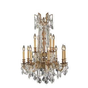 Astoria Grand Radtke Traditional 12-Light Candle Style Chandelier