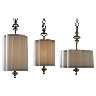 Fluted 4-Light Pendant by Global Views
