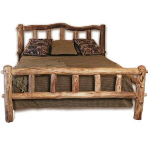 Rustic Arts? Platform Bed by Mountain Woods Furniture