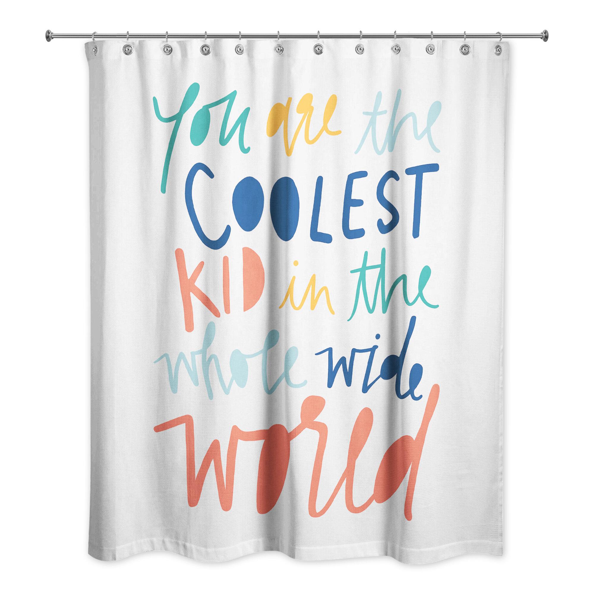 Viv Rae Saul Kid Single Shower Curtain Reviews Wayfair