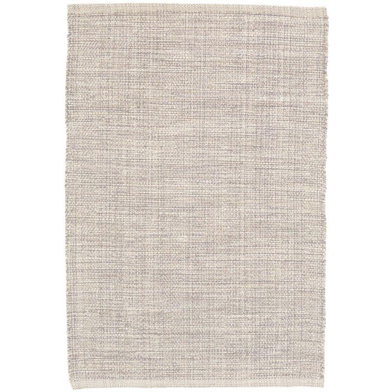 Albert Rugs Marled Gray Cotton Area Rug