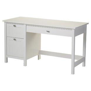 Three Posts Broadview 2 Drawer Writing Desk