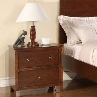 Flair Lift Off 2 Drawer Nightstand