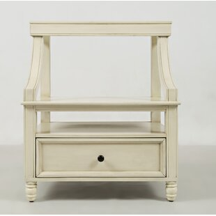 Parkridge 1 Drawer Nightstand by Alcott Hill