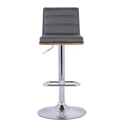 Remarkable Wade Logan Branch Adjustable Height Swivel Bar Stool Cjindustries Chair Design For Home Cjindustriesco