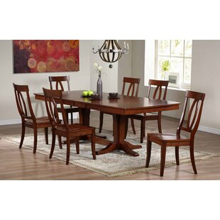 Garden Grove Extendable Solid Wood Dining Table by Alcott Hill