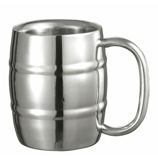 Little Cooper Beer Glass 9 oz. Stainless Steel
