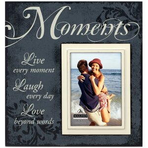 Moments Scripts Picture Frame