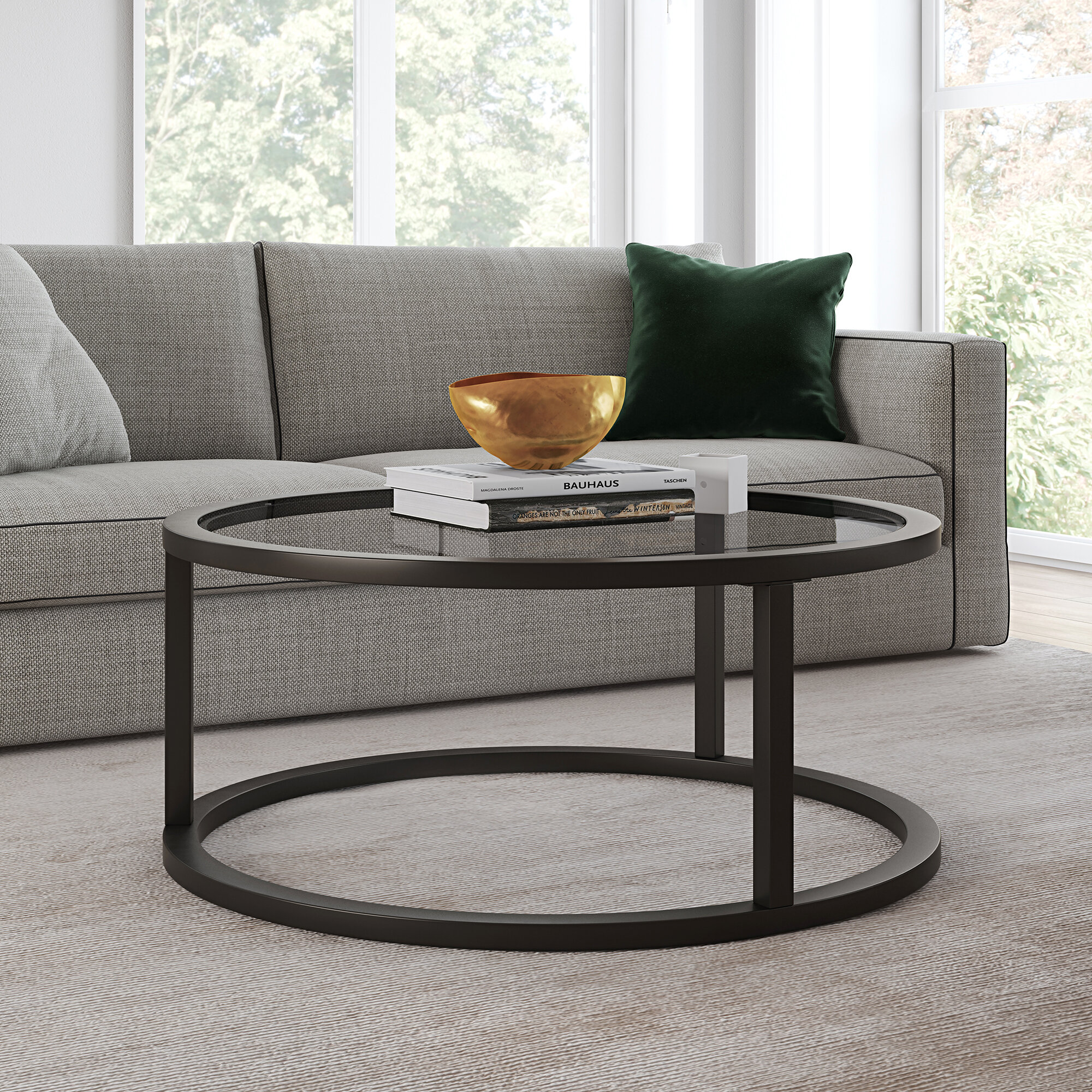 Picture of: Black Glass Coffee Tables You Ll Love In 2020 Wayfair