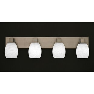 Winston Porter Weatherly 4-Light Vanity Light