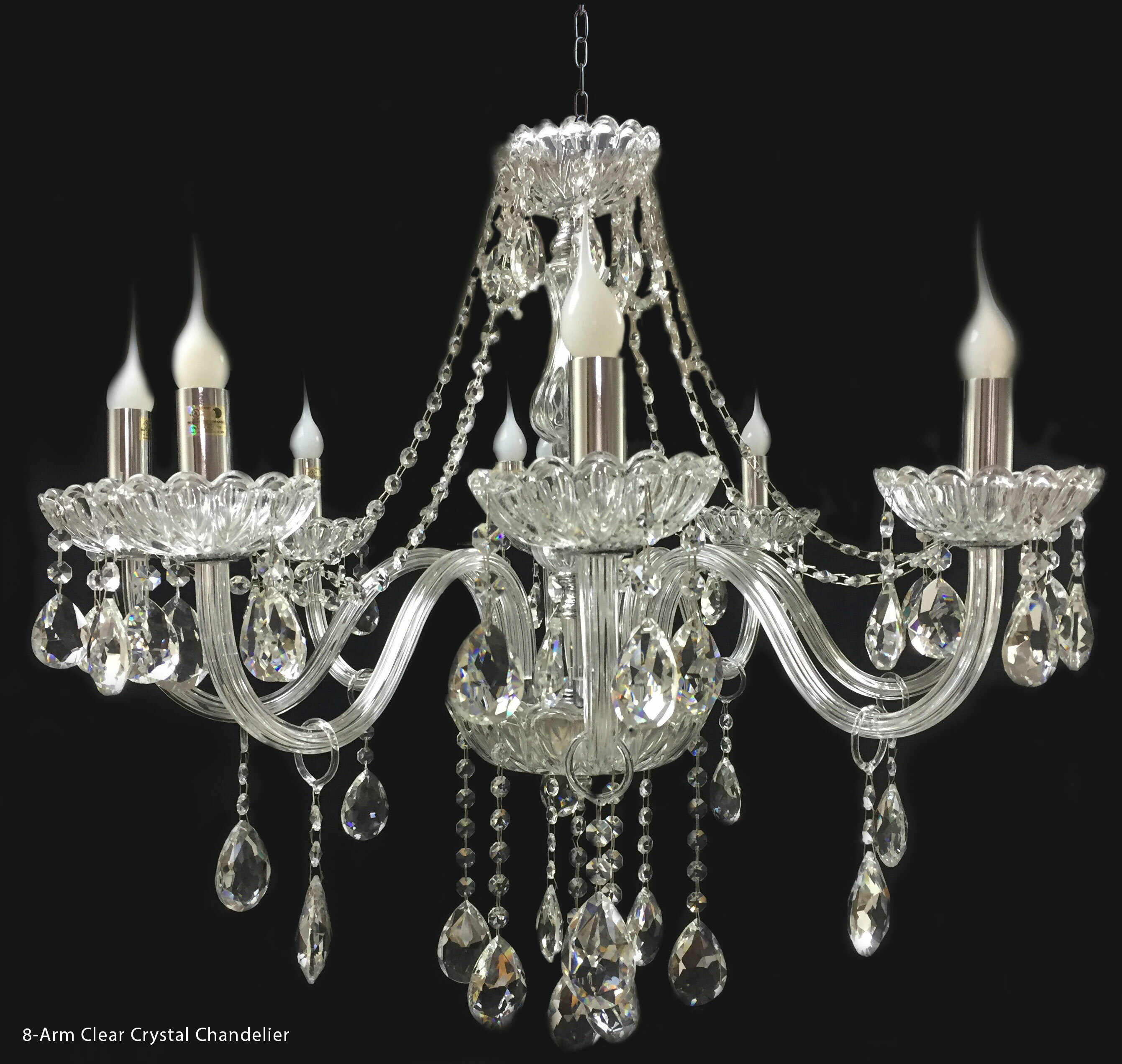 House Of Hampton Fionn 8 Light Candle Style Classic Traditional Chandelier Wayfair