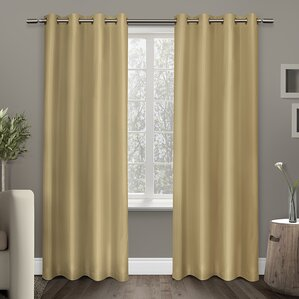 Britain Room Darkening Curtain Panels Set Of 2