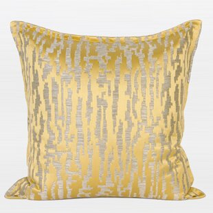Nonobjective Pattern Jacquard Pillow Cover