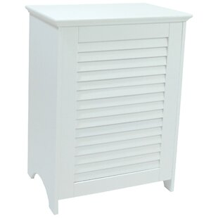 Redmon Louvered Front Cabinet Laundry Hamper