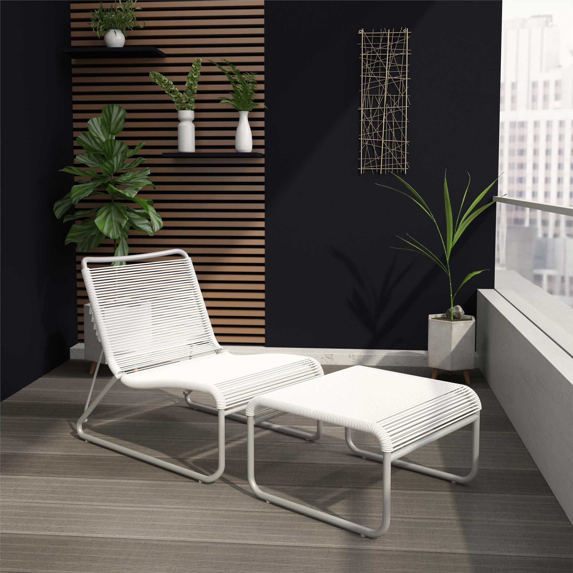 Cosmopolitan Lita Recliner Patio Chair