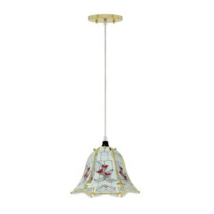 Astoria Grand Lindquist 1-Light Bell Pendant