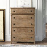 Tempo 5 Drawer Chest by Kelly Clarkson Home