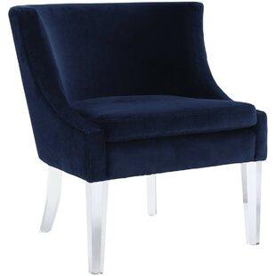 Dennie Barrel Chair by Everly Quinn