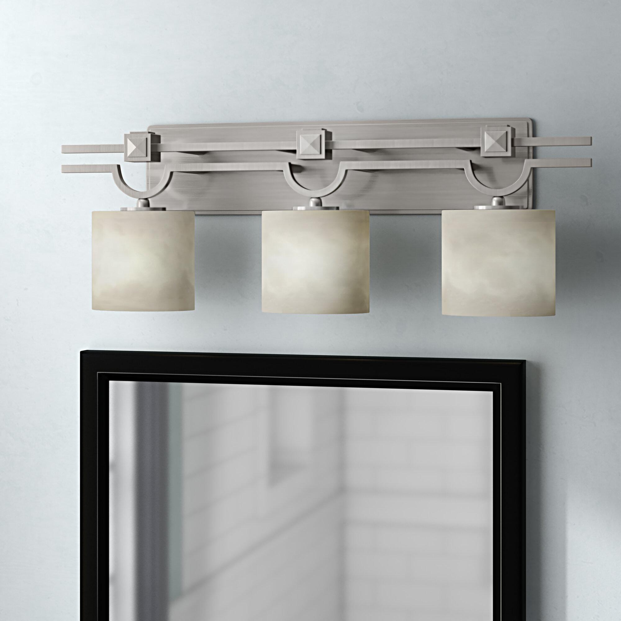 Brayden Studio Genaro 3 Light Vanity Light Reviews Wayfair