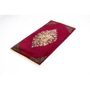 Seafarer Hand Hooked Wool Pink Indoor/Outdoor Rug By Bloomsbury Market