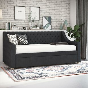 Nolita Upholstered Twin Daybed with Trundle by CosmoLiving by Cosmopolitan
