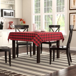 Enjoyable Salerno Buffalo Plaid Tablecloth Gmtry Best Dining Table And Chair Ideas Images Gmtryco