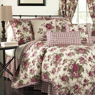 Cabbage Rose Quilt Wayfair