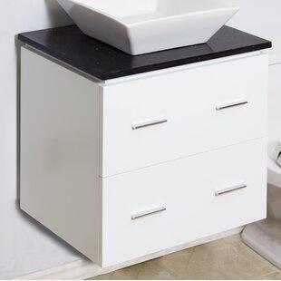 Modern 23 Single Bathroom Vanity Base Only by American Imaginations
