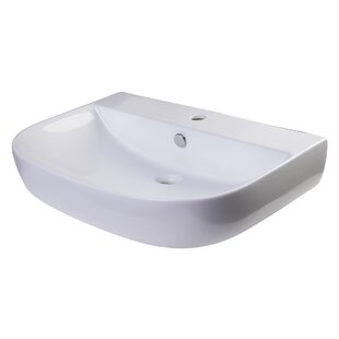 D-Bowl 2 Metal 28 Wall Mount Bathroom Sink with Overflow ByAlfi Brand