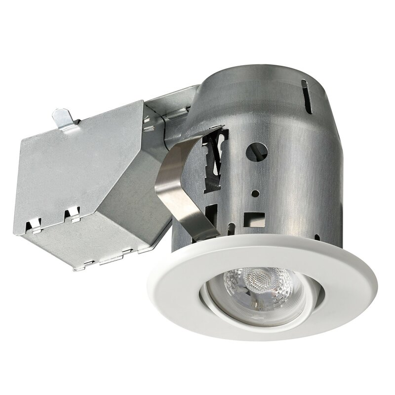 Swivel 4 Recessed Lighting Kit