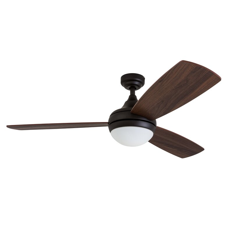 Wrought studio 52 alexa 3 blade led ceiling fan with remote control 52 alexa 3 blade led ceiling fan with remote control aloadofball Choice Image