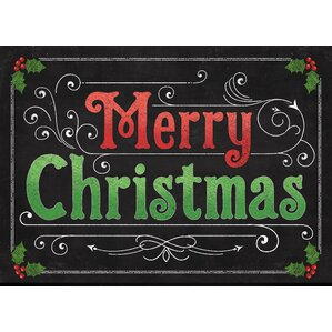 Christmas Door Mats You Ll Love In 2019 Wayfair