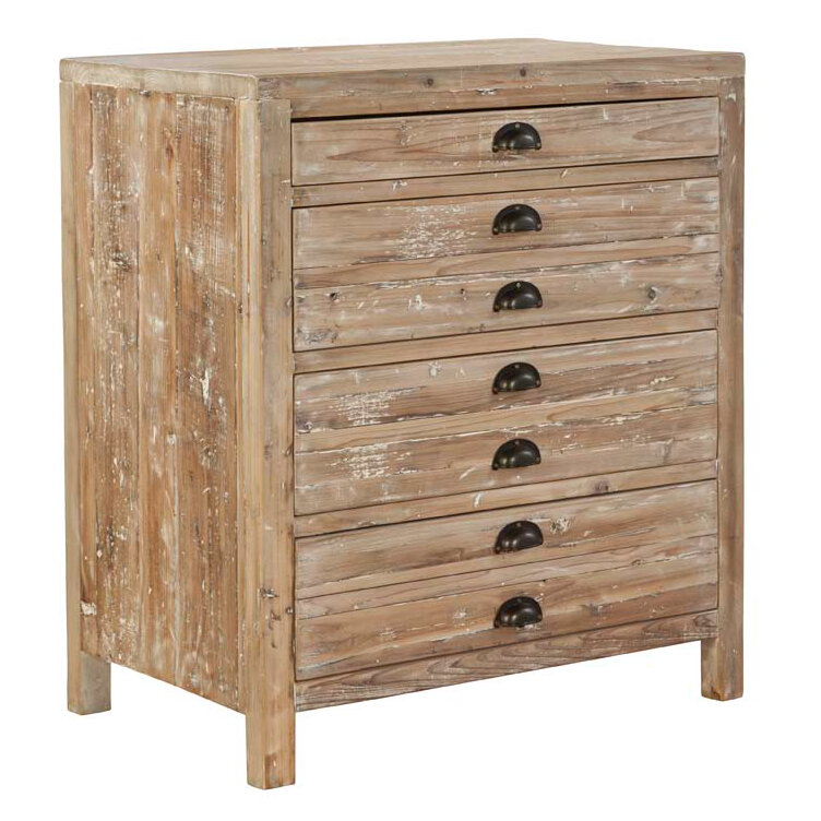 Charmant Furniture Classics Small Apothecary 4 Drawer Accent Chest | Wayfair