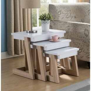 Aldridge Wooden 3 Piece Nesting Tables by Latitude Run