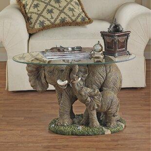 Elephant's Majesty Coffee Table by Design Toscano