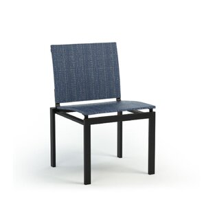 Hosler Cafe Armless Stacking Patio Dining Chair