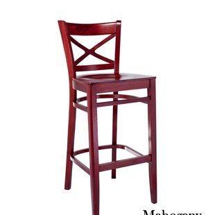 Helmuth Cross Back 30 Bar Stool August Grove