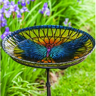 Evergreen Enterprises, Inc Bold Butterfly Birdbath
