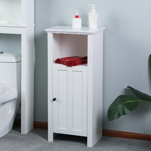 Best Reviews Antwan Wood Floor Bathroom 15 W x 35 H Linen Tower By Alcott Hill